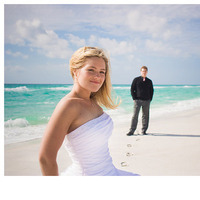 Wedding Dresses, Beach Wedding Dresses, Fashion, dress, Beach, Bride, Groom, Wedding, Couple, Florida, Candice k photography
