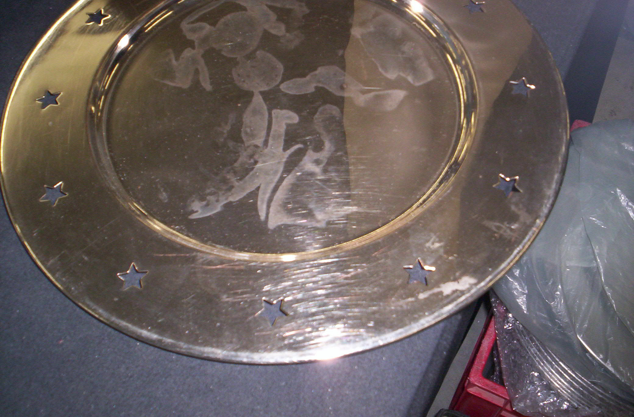silver, Underplates
