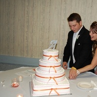 Cakes, orange, cake, Cake cutting