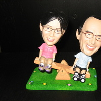 Parents, Gift, Bobble heads