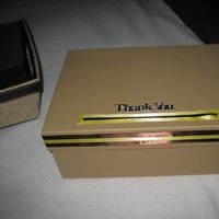 yellow, brown, Card box