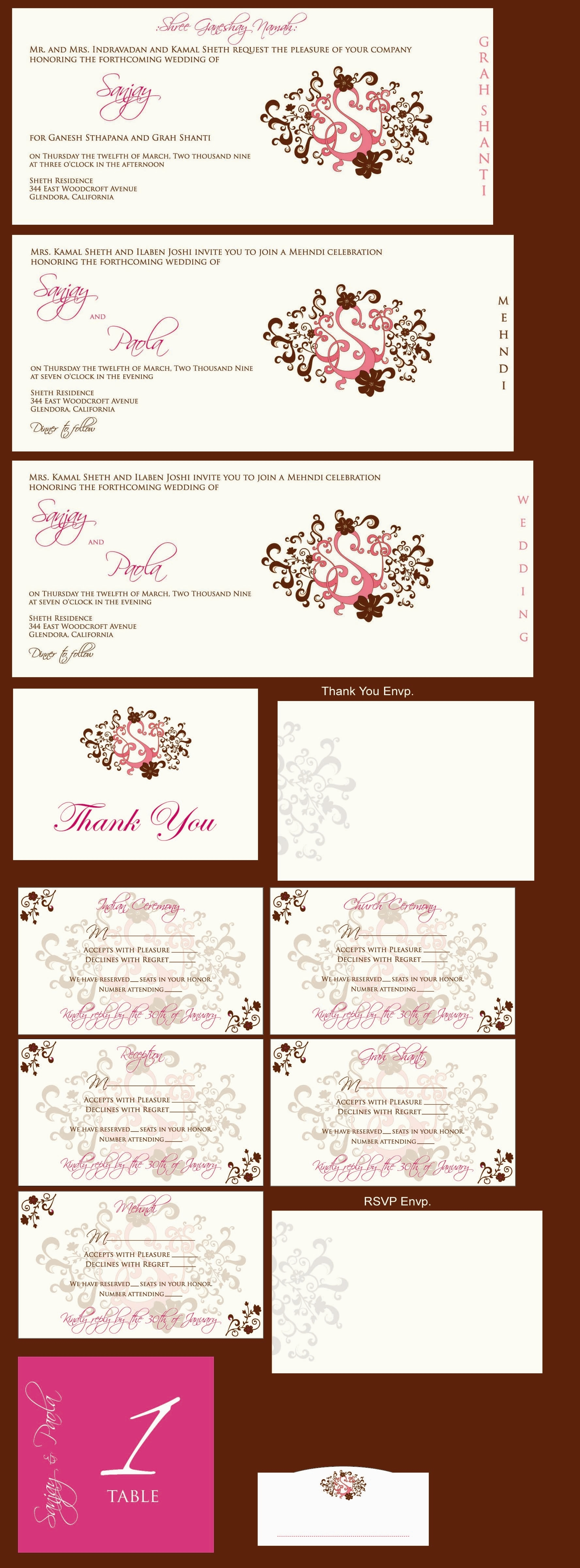 Stationery, invitation, Invitations, 1, Mock