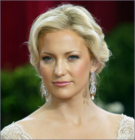 Beauty, Makeup, Updo, Hair, Kate hudson