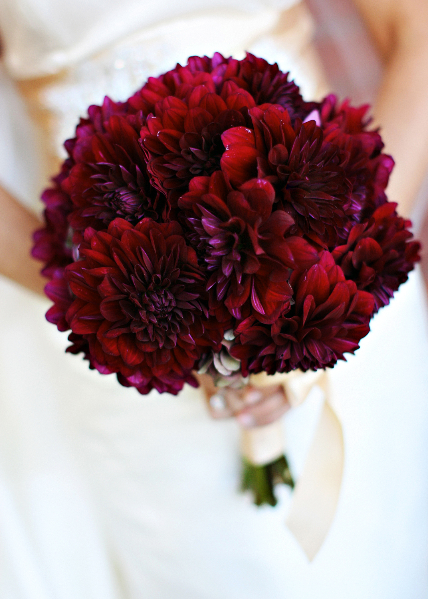 red, Bride Bouquets