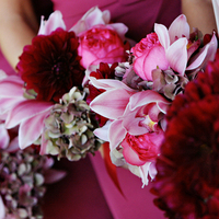 Flowers & Decor, pink, red, Bride Bouquets, Flowers, City, Bouquet, Wedding, San, Francisco