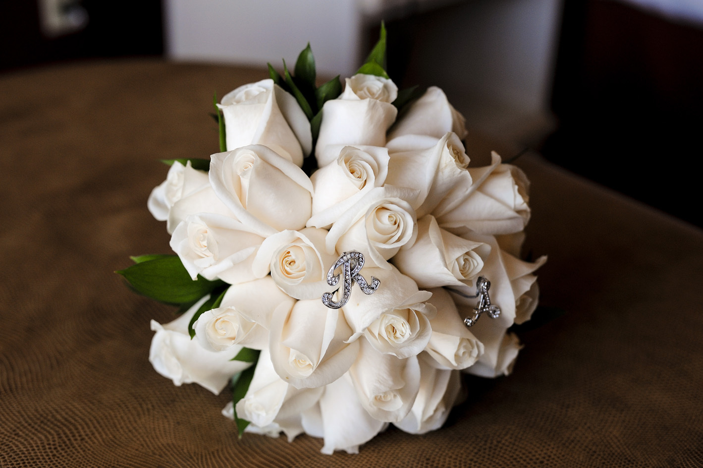 white, Bouquet