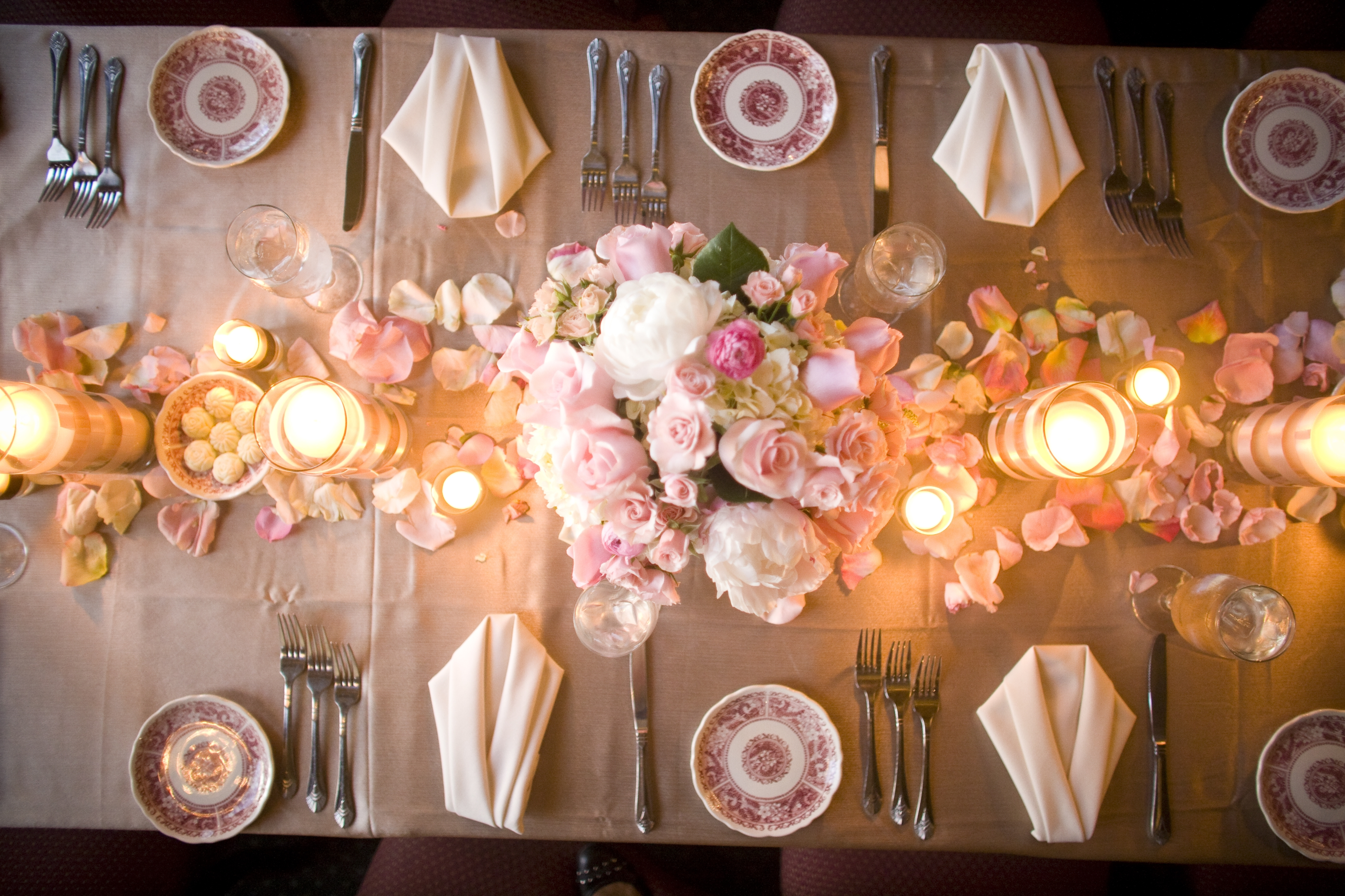 pink, Centerpieces, Garden Wedding Flowers & Decor, Vintage Wedding Flowers & Decor