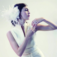 Beauty, Flowers & Decor, Feathers, Comb, Flowers, Bridal, Feather, Alice hart couture millinery