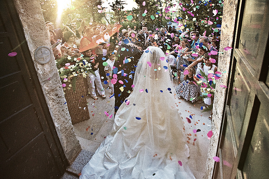 Ceremony, Flowers & Decor, Destinations, Europe, Wedding photography by iqphoto