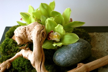 green, Centerpiece, Zen