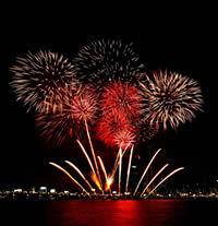Fireworks, Event rentals unlimited
