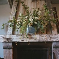 white, green, Rustic, Wedding, And
