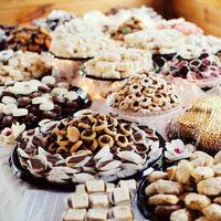 DIY, Vintage, Wedding, York, New, Cookie table