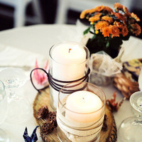 DIY, Centerpieces, Vintage, Wedding, York, New