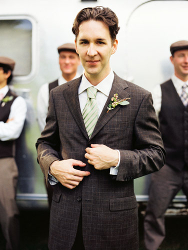 DIY, Vintage, Groom, Wedding, York, New