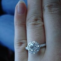 Ring, Engagement, Diamond, Circle, Rumi co