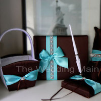 Reception, Flowers & Decor, blue, Centerpieces, Tiffany, Box, Card, Damask, Decoration, The wedding main st