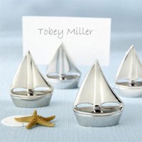 Stationery, Place Cards, Placecards, Place card holders, Shining sails silver place card holders