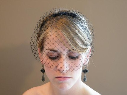 Veils, Fashion, black, Veil