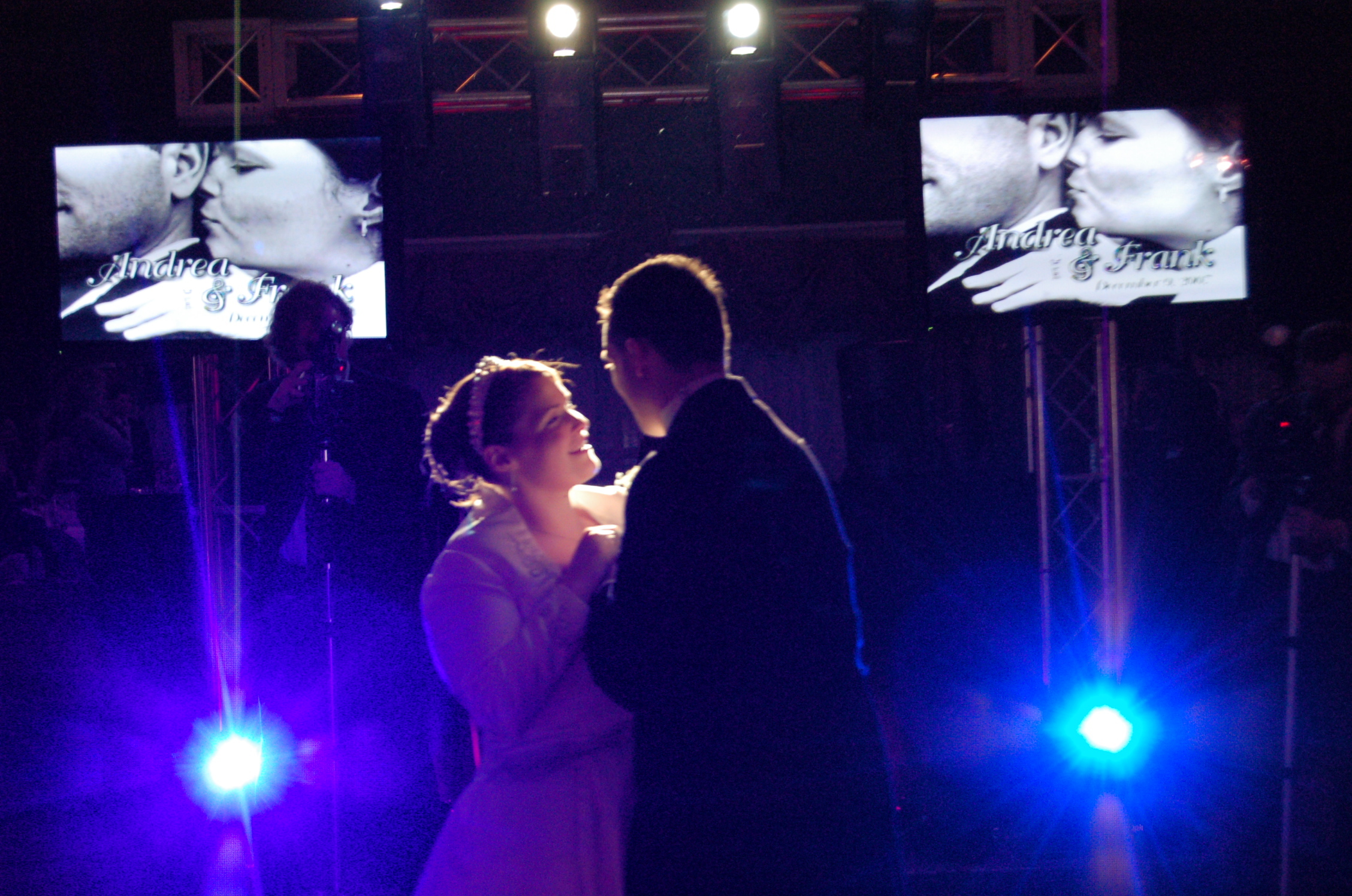 Lighting, Bride, Groom, Dance, Spotlight, Five star dj entertainment, Plasmas
