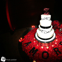 Cakes, red, cake, Louis palos photographer