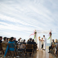 Ceremony, Flowers & Decor, Beach, Beach Wedding Flowers & Decor, Wedding, Brea mcdonald photography