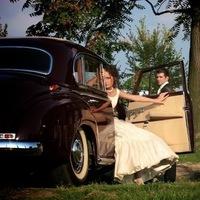 Bride, Groom, Car, Park, Levente photography
