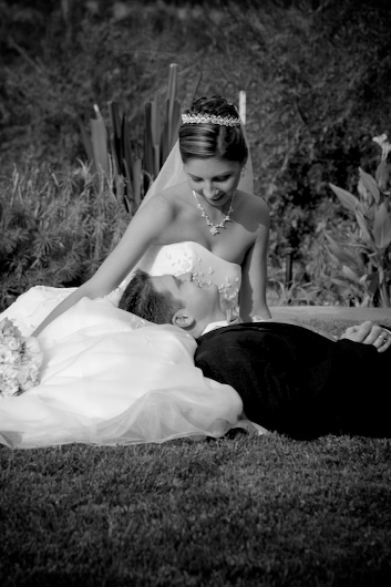 Bride, Groom, Wedding, Park, Levente photography