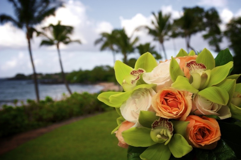 Flowers & Decor, Destinations, Flower, Bouquet, Wedding, Destination, Ocean, Levente photography