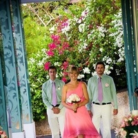Bridesmaids, Bridesmaids Dresses, Fashion, pink, green, Groomsmen