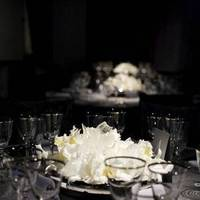 Flowers & Decor, white, silver, Centerpieces, Flowers, Centerpiece, Orchid, Catalaya