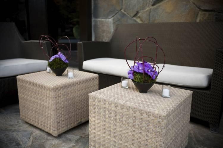 Flowers & Decor, purple, Flowers, Table, Cocktail, Asian