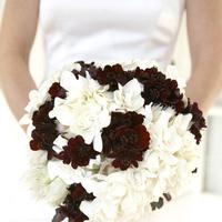 Flowers & Decor, white, brown, Bride Bouquets, Bride, Flowers, Bouquet, Chocolate