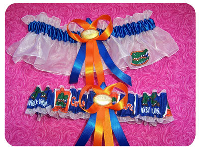 orange, blue, Garter, Florida gators