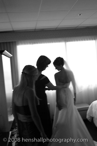 white, black, Bride, Preparation, And, Henshall photography