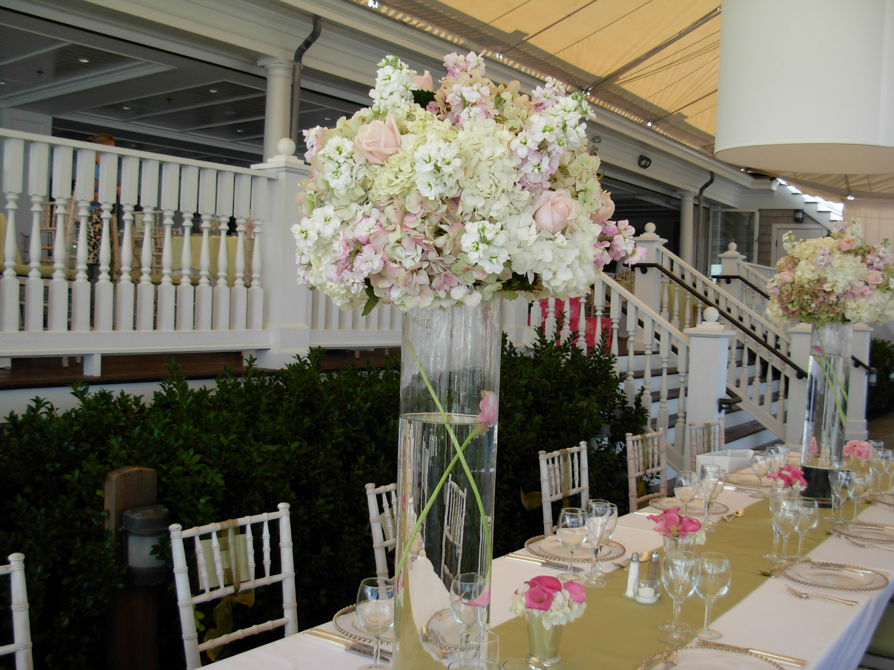 Reception, Flowers & Decor, white, pink, green, Centerpieces, Flowers, Centerpiece, Ct, Soiree floral
