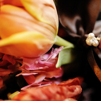 Flowers & Decor, orange, pink, brown, Bride Bouquets, Bridesmaid Bouquets, Flowers, Bouquet, Bridesmaid
