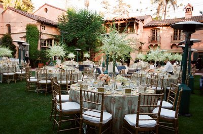 Reception, Flowers & Decor, white, pink, green, Garden