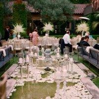 Reception, Flowers & Decor, Decor, white, Flowers