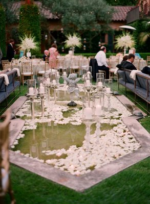 Reception, Flowers & Decor, Decor, white, Flowers
