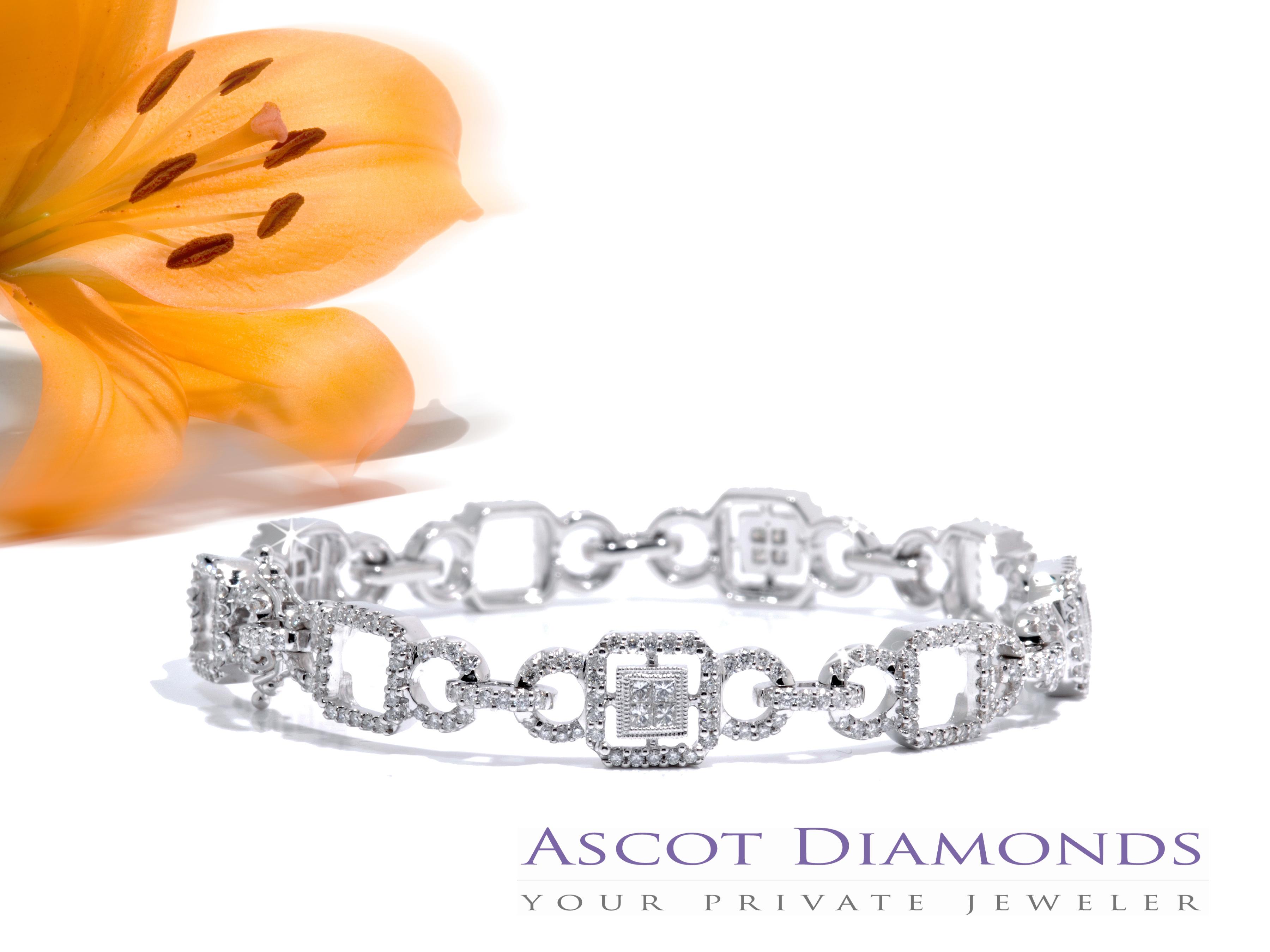 Jewelry, Bracelets, Bracelet, Diamond, Ascot diamonds, private jewelers