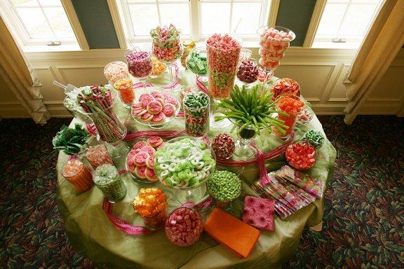 Dessert, Candy, Candy buffet