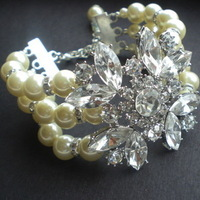 Jewelry, Bracelets, Brooches, Vintage, Accessories, Crystal, Bracelet, Swarovski, Designs, Brooch, Rhinestone, Pearl, Antique, Belle nouvelle designs, Nouvelle, Belle
