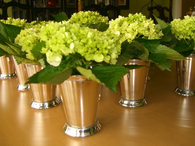 Reception, Flowers & Decor, Decor, Flowers, Mint julep