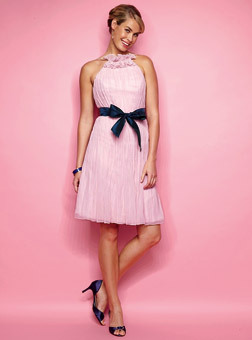 Bridesmaids, Bridesmaids Dresses, Fashion, pink, Chiffon, Chiffon Wedding Dresses