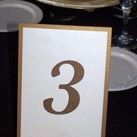 Reception, Flowers & Decor, Decor, Stationery, Table Numbers, Table number