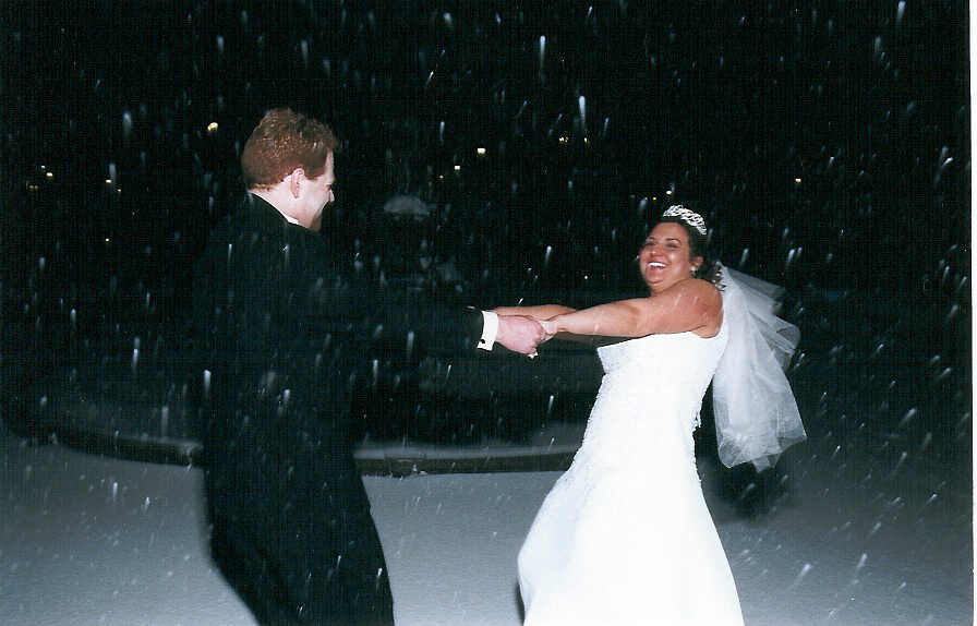 Ceremony, Reception, Flowers & Decor, Bride, Groom, Snow