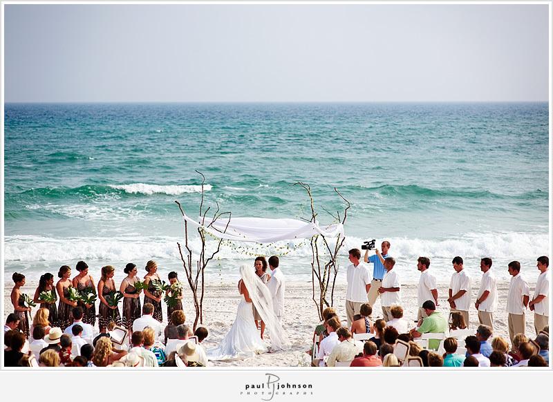Ceremony, Flowers & Decor, Beach, Beach Wedding Flowers & Decor, Branches, Altar