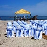 Ceremony, Flowers & Decor, Beach, Beach Wedding Flowers & Decor, Altar, Driftwood