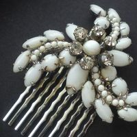 Beauty, Jewelry, Tiaras, Chignon, Updo, Curly Hair, Wavy Hair, Long Hair, Headbands, Comb, Hair, Long, Wavy, Tiara, Back, Up, Half, Crystal, Do, Swarovski, Designs, Diamond, Curly, Pulled, Pearl, Headband, Piece, Hairpiece, Nouvelle, Belle